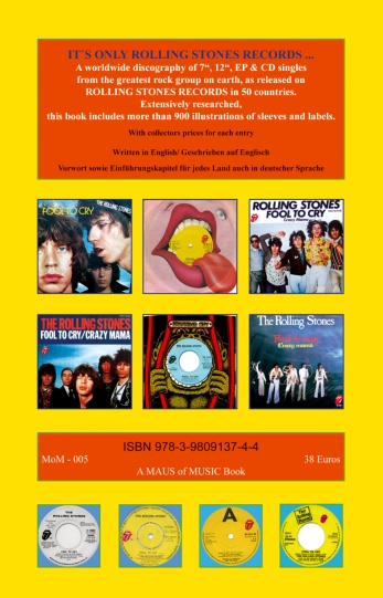 The Rolling Stones - Worldwide 2 -  MoM-005 Germany book