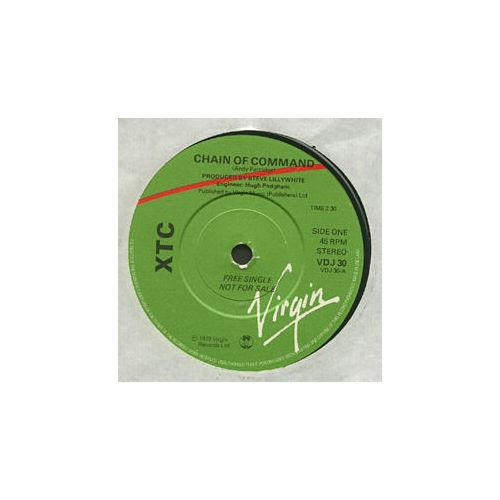 "XTC - Chain of Command - Virgin VDJ 30  UK 7"""