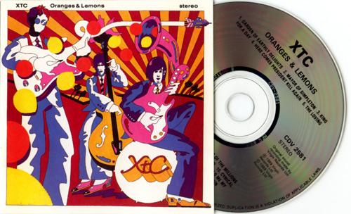 XTC - Oranges and Lemons - Virgin CDV2581 Canada CD