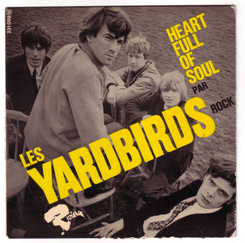 """The Yardbirds - Heart Full of Soul - Riviera 231099 France 7"""" EP"""