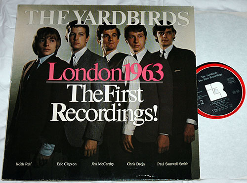 The Yardbirds - London 1963 - The First Recordings! - LR 44001 Germany LP