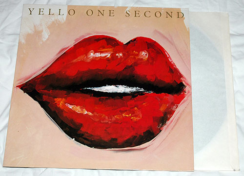 Yello - One second - Mercury 83°956 Germany LP