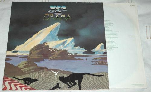 Yes - Drama - Atlantic ATL 50736 Germany LP