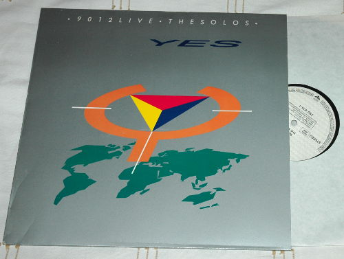 Yes - 9012 Live - the solos - Atco 790474 Germany LP