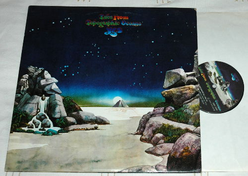Yes - Tales From the Topographic Ocean - Atlantic 2SD 908 Canada LPx2