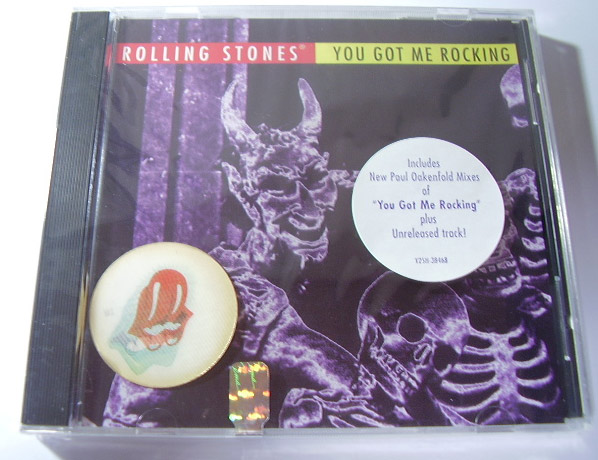 The Rolling Stones - You Got Me Rocking - Virgin 384682 USA CDS