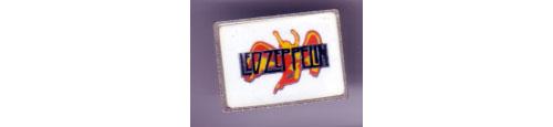 Led Zeppelin - 1980's badge -   UK badge