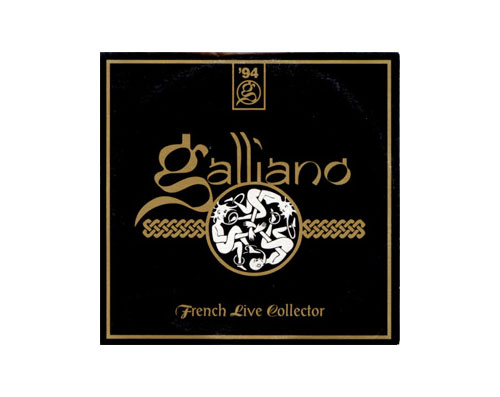 GALLIANO - French live collector - CD single