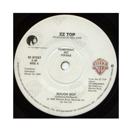 """ZZ TOP - Rough Boy - WEA 92 87337 Canada 7"""""""