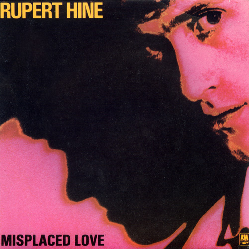 "Rupert Hine - Misplaced Love - A&M AMS 9119 Italy 7"" PS"
