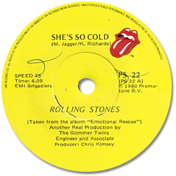The Rolling Stones : She's So Cold - South Africa 1980