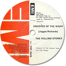 The Rolling Stones : Undercover (Of The Night) - South Africa 1983
