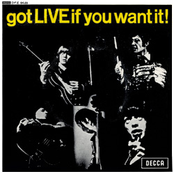 The Rolling Stones : Got Live If You Want It! - South Africa / Rhodesia 1965