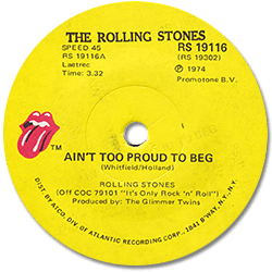 The Rolling Stones : Ain't Too Proud To Beg - South Africa 1974