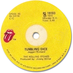 The Rolling Stones : Tumbling Dice - South Africa 1972
