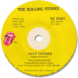 The Rolling Stones : Wild Horses - South Africa 1971