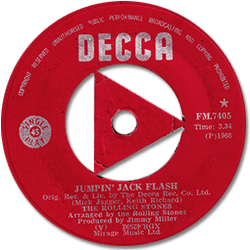 The Rolling Stones : Jumpin' Jack Flash - South Africa 1968