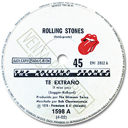 The Rolling Stones : Miss You - Argentina 1978