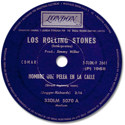 The Rolling Stones : Street Fighting Man - Argentina 1968