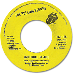 The Rolling Stones : Emotional Rescue - Barbados 1980
