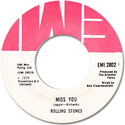 The Rolling Stones : Miss You - Barbados 1978