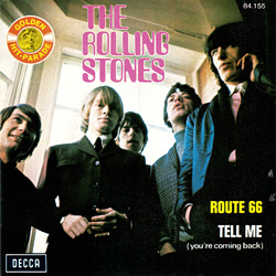The Rolling Stones : Route 66 - Belgium 1972