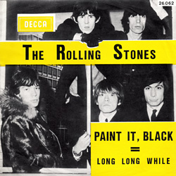 The Rolling Stones : Paint It, Black - Belgium 1966