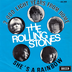 The Rolling Stones : 2000 Light Years From Home - Belgium 1968