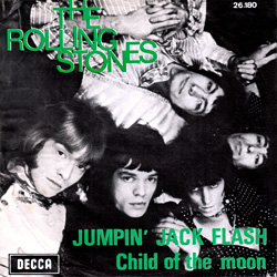 The Rolling Stones : Jumpin' Jack Flash - Belgium 1968