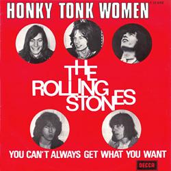 The Rolling Stones : Honky Tonk Women - Belgium 1969
