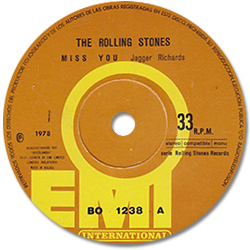 The Rolling Stones : Miss You - Bolivia 1979