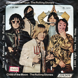 The Rolling Stones : Jumpin' Jack Flash - Brazil 1968