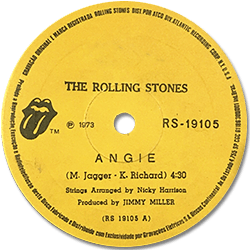The Rolling Stones : Angie - Brazil 1973