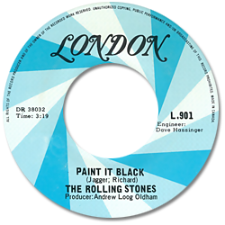 The Rolling Stones : Paint It, Black - Canada 1969