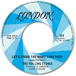 The Rolling Stones : Let's Spend The Night Together - Canada 1969