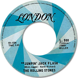 The Rolling Stones : Jumpin' Jack Flash - Canada 1969