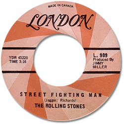 The Rolling Stones : Street Fighting Man - Canada 1968