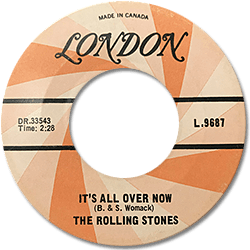 The Rolling Stones : It's All Over Now - Canada 1965