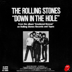 The Rolling Stones : Emotional Rescue - Canada 1980