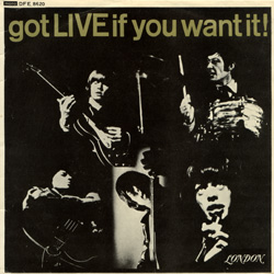 The Rolling Stones : Got Live If You Want It! - Canada 1965