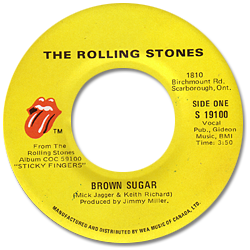 The Rolling Stones : Brown Sugar - Canada 1978