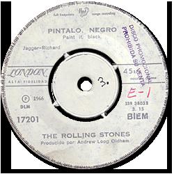The Rolling Stones : Paint It, Black - Chile 1966