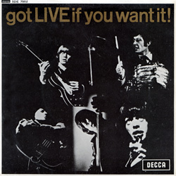 The Rolling Stones : Got Live If You Want It! - Belgium 1965