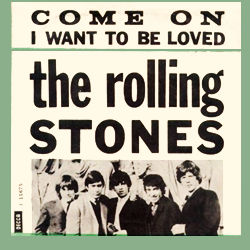The Rolling Stones : Come On - Denmark / UK 1965