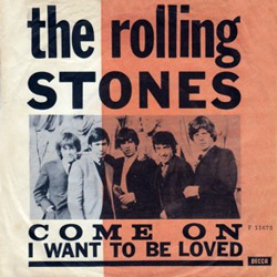 The Rolling Stones : Come On - Denmark / UK 1963