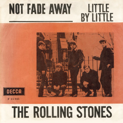 The Rolling Stones : Not Fade Away - Denmark / UK 1964