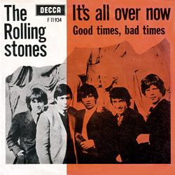 The Rolling Stones : It's All Over Now - Denmark / UK 1964