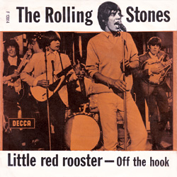 The Rolling Stones : Little Red Rooster - Denmark / UK 1964