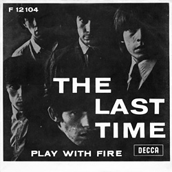 The Rolling Stones : The Last Time - Denmark / UK 1965