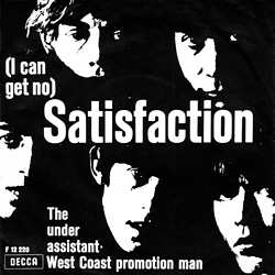 The Rolling Stones : Satisfaction - Denmark / UK 1965